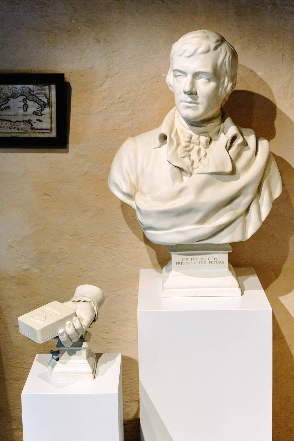 Robert Burns Birthplace Museum bust
