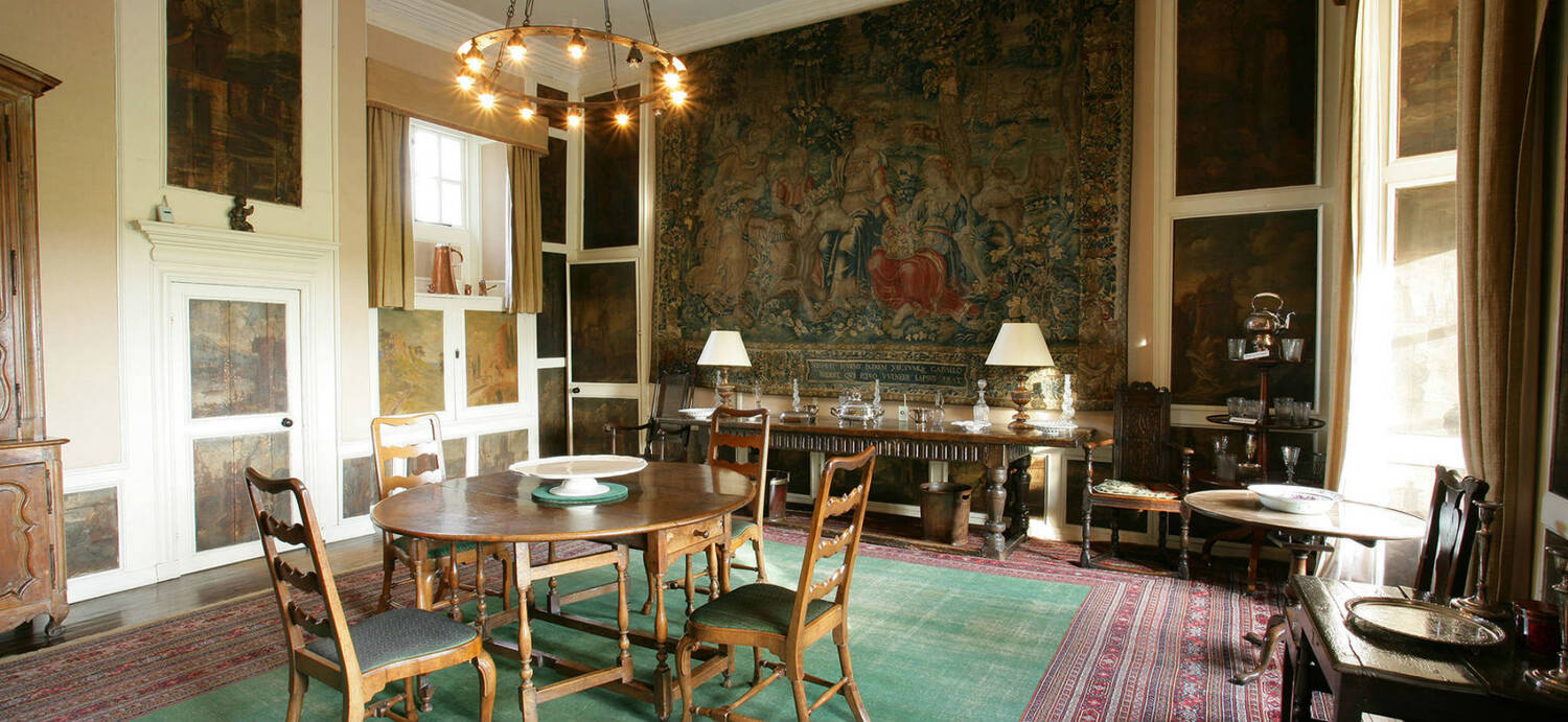 The dining room at Kellie Castle