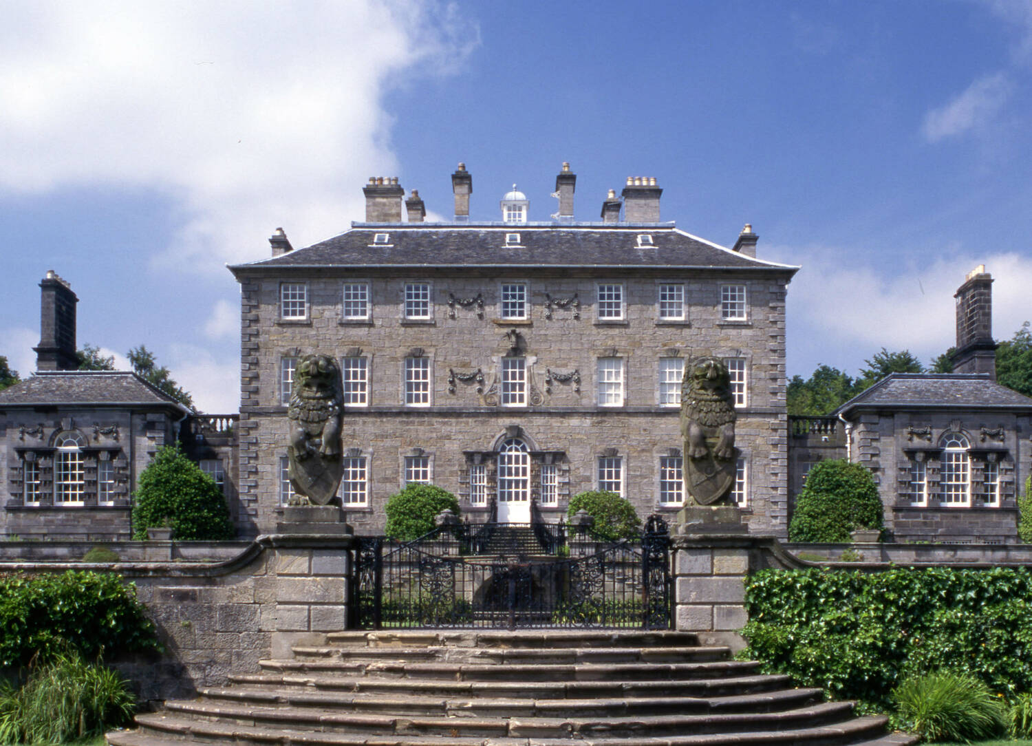 The grand façade of Pollok House © National Trust for Scotland