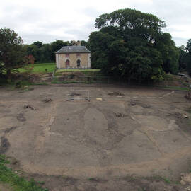 The Trust's archaeological work at Newhailes