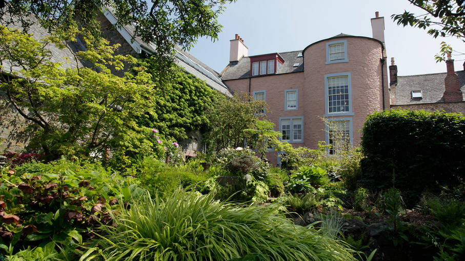 ​The rear of Broughton House, from the garden​
