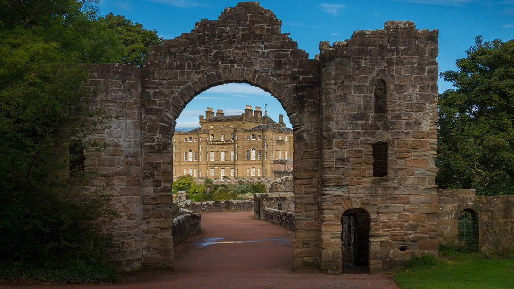 The Ruined Arch at Culzean Castle