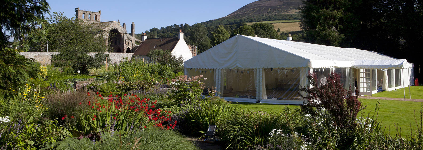 Marquee in Harmony Garden