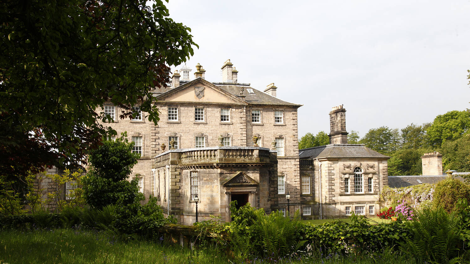 Pollok House is where discussions about the foundation of the Trust took place.
