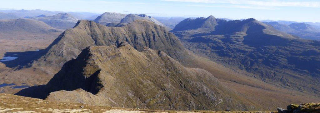 Torridon: Beinn Alligin, looking east