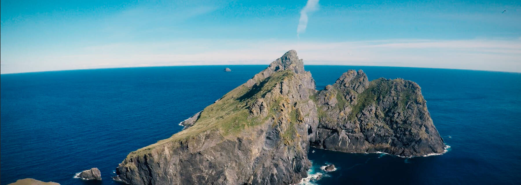 The island of Hirta, in the St Kilda archipelago