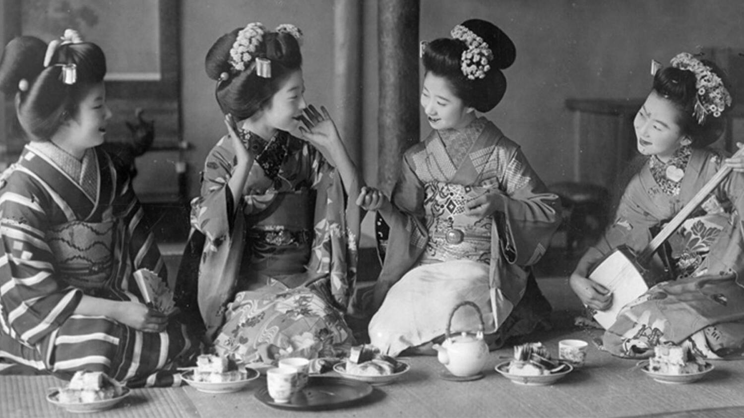 Japanese photographs at Broughton House