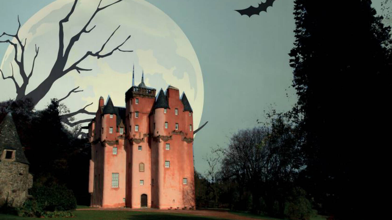 Haunted Craigievar Castle