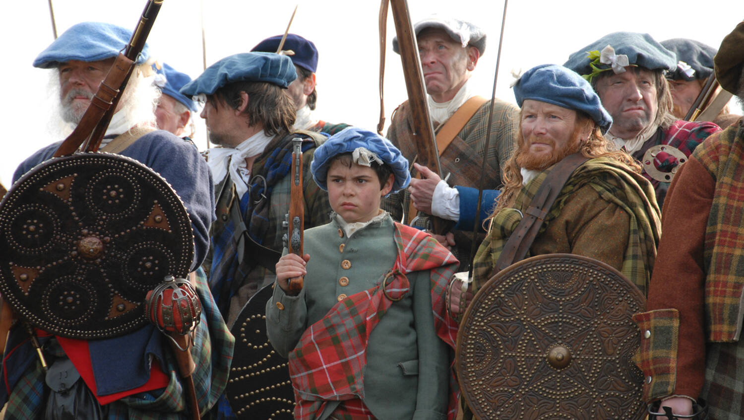 Jacobites at Culloden
