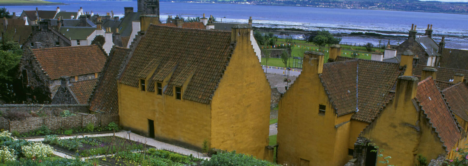The palace gardens at the Royal Burgh of Culross