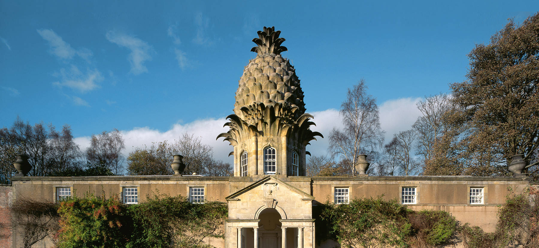 Image of: Arms The Pineapple Encyclopedia Britannica The Pineapple National Trust For Scotland