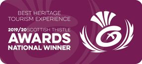 2019/20 Scottish Thistle Awards National Winner of Best Heritage Tourism Experience