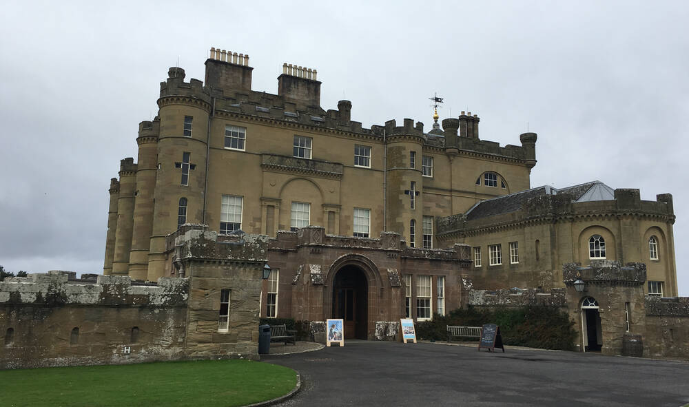Main visitor entrance to Culzean Castle