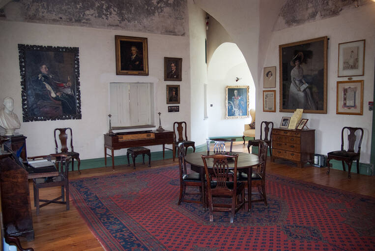 The Great Hall at Alloa Tower