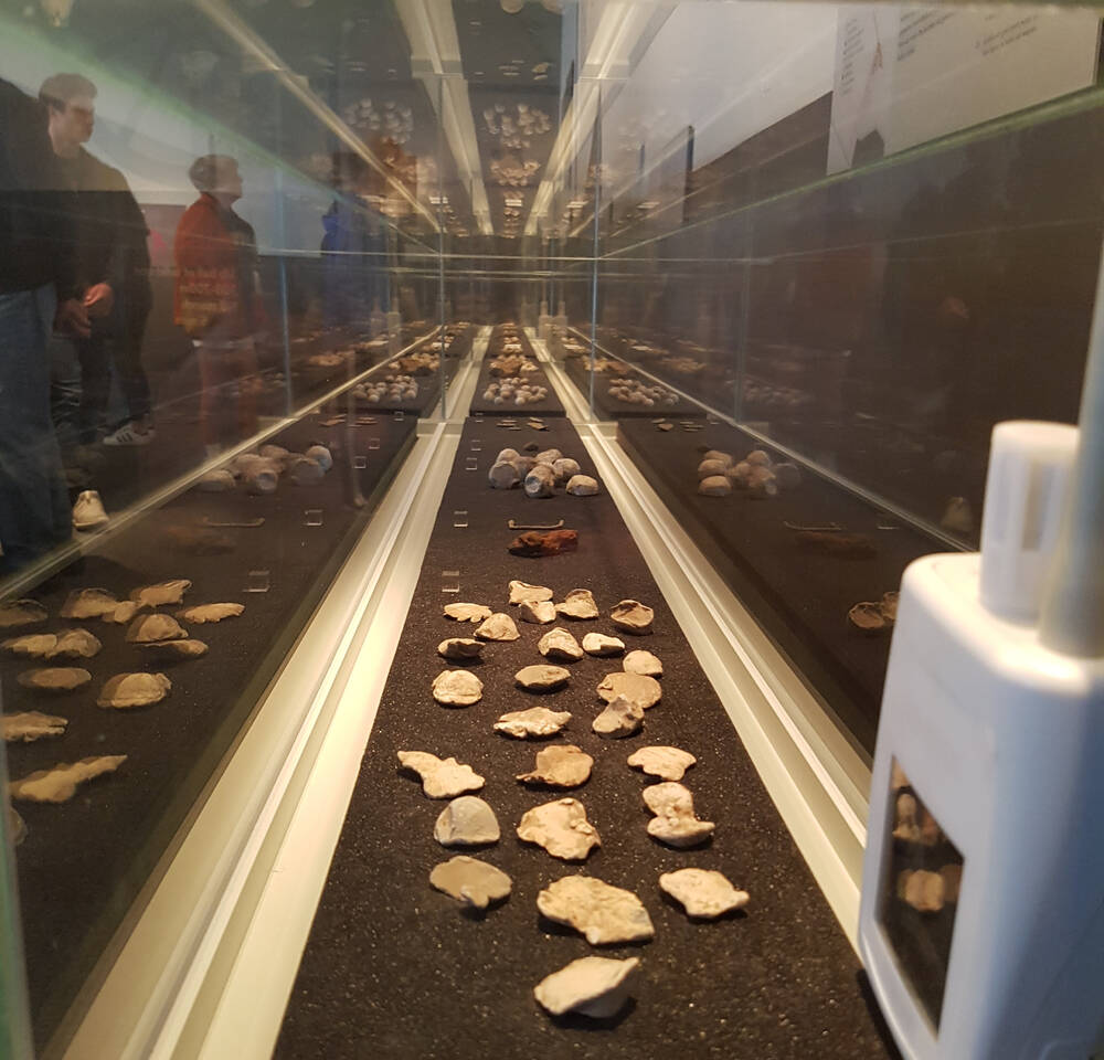 Archaeological finds from Culloden on display