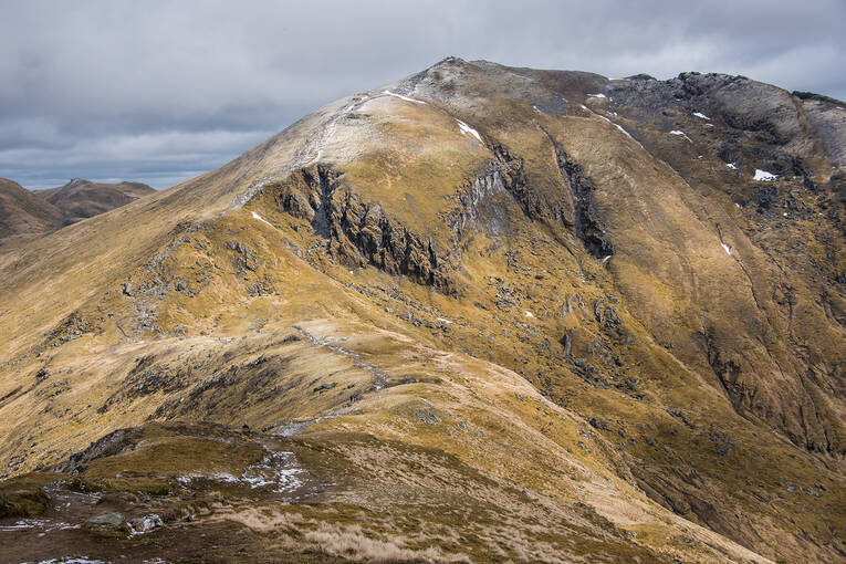 The peak of Ben Lawers