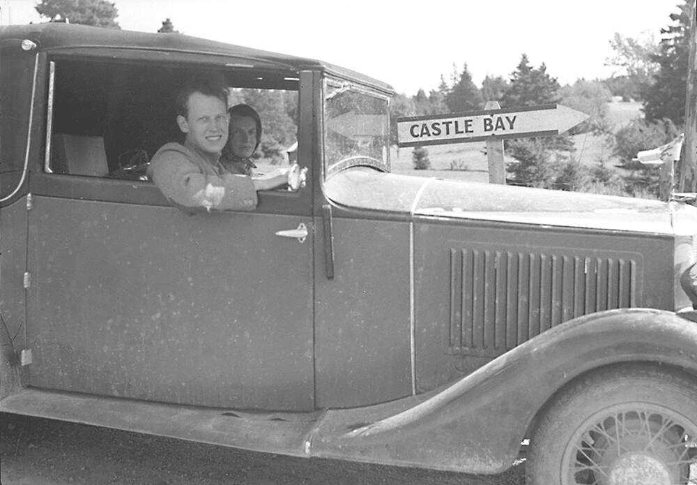 John and Margaret Campbell, Castle Bay, Nova Scotia 1937