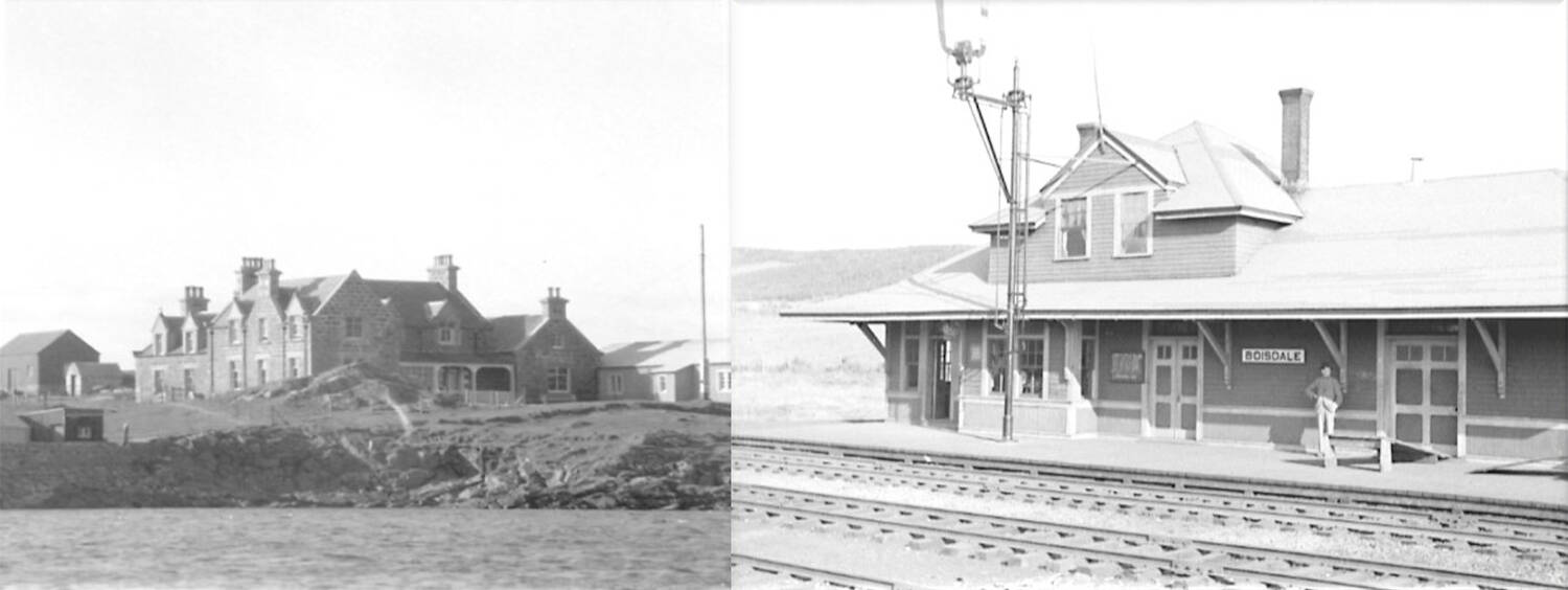 From Lochboisdale Hotel, South Uist to Boisdale Station, Nova Scotia