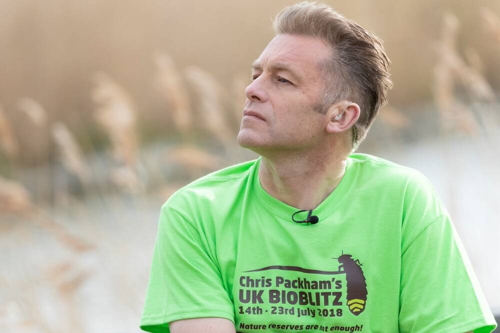 Chris Packham kicks off his UK-wide Bioblitz campaign at Ben Lawers this summer