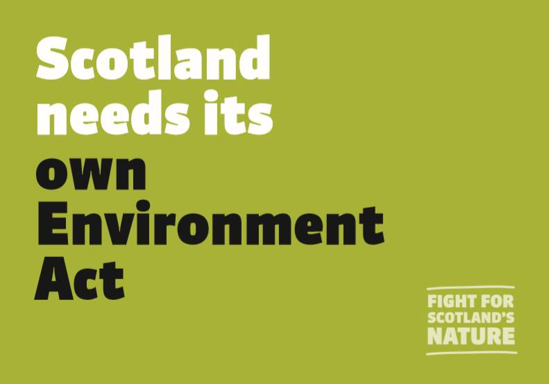 Scotland needs its own Environment Act
