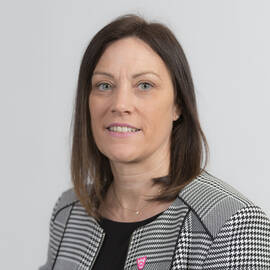 Louise Page, Chief Financial Officer and Director of Corporate Services