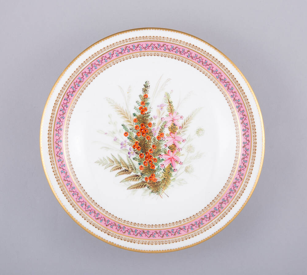 Hill House plate