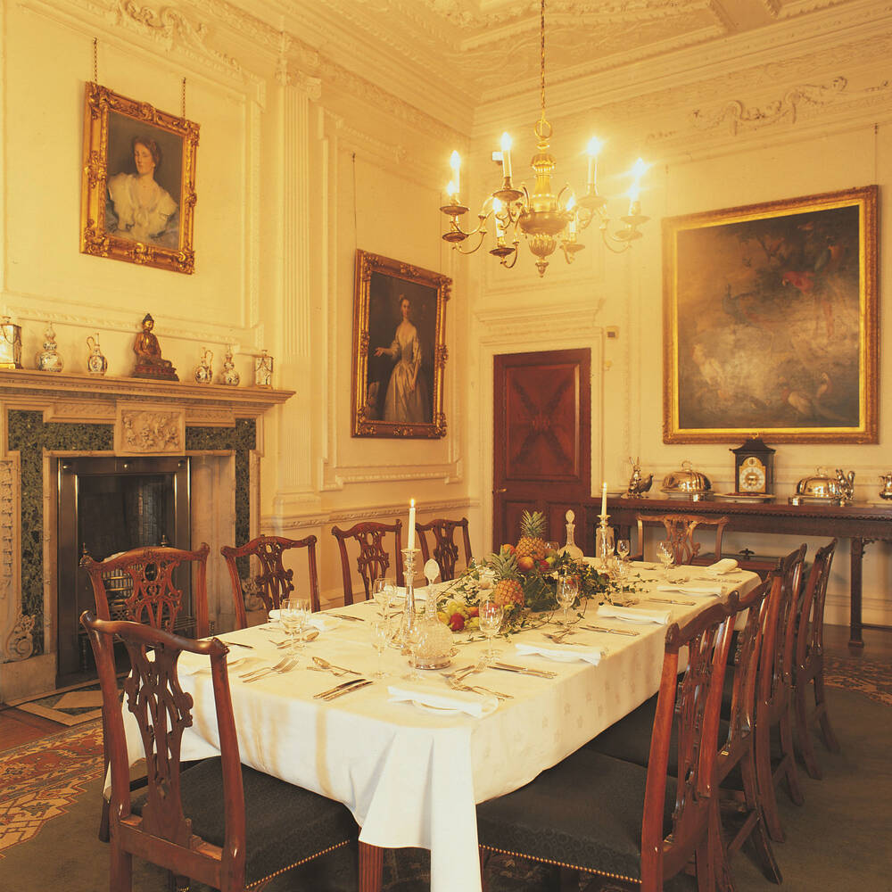 Mansion Dining Room: National Trust For Scotland