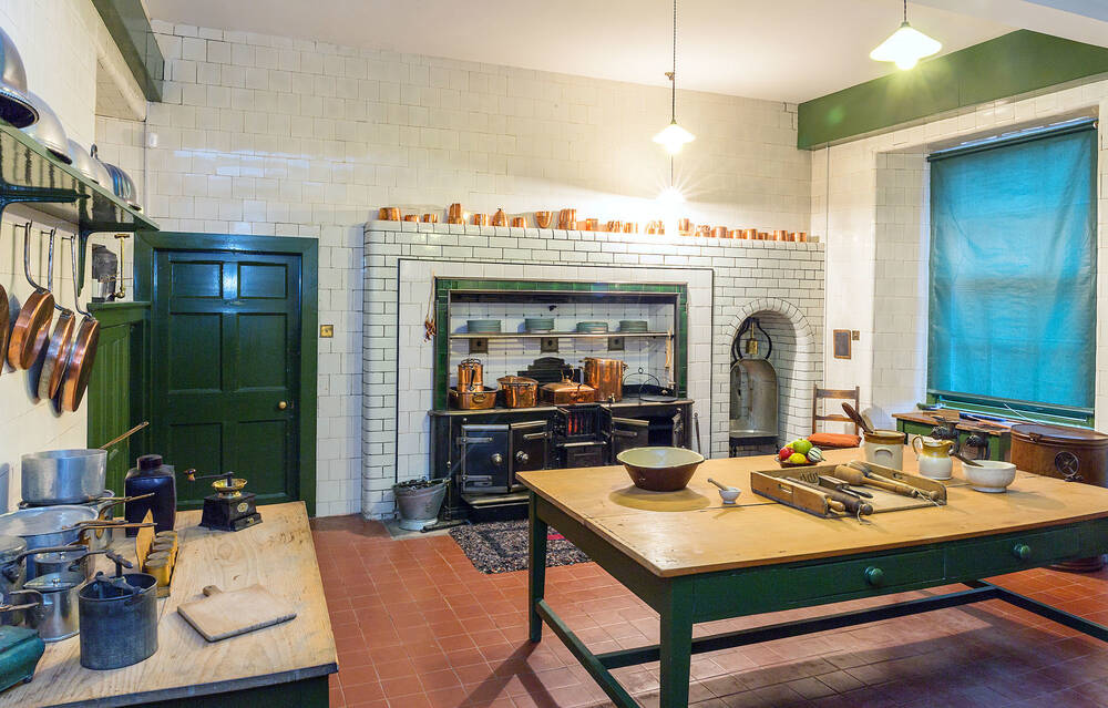 enchanting victorian style kitchen   National Trust for Scotland