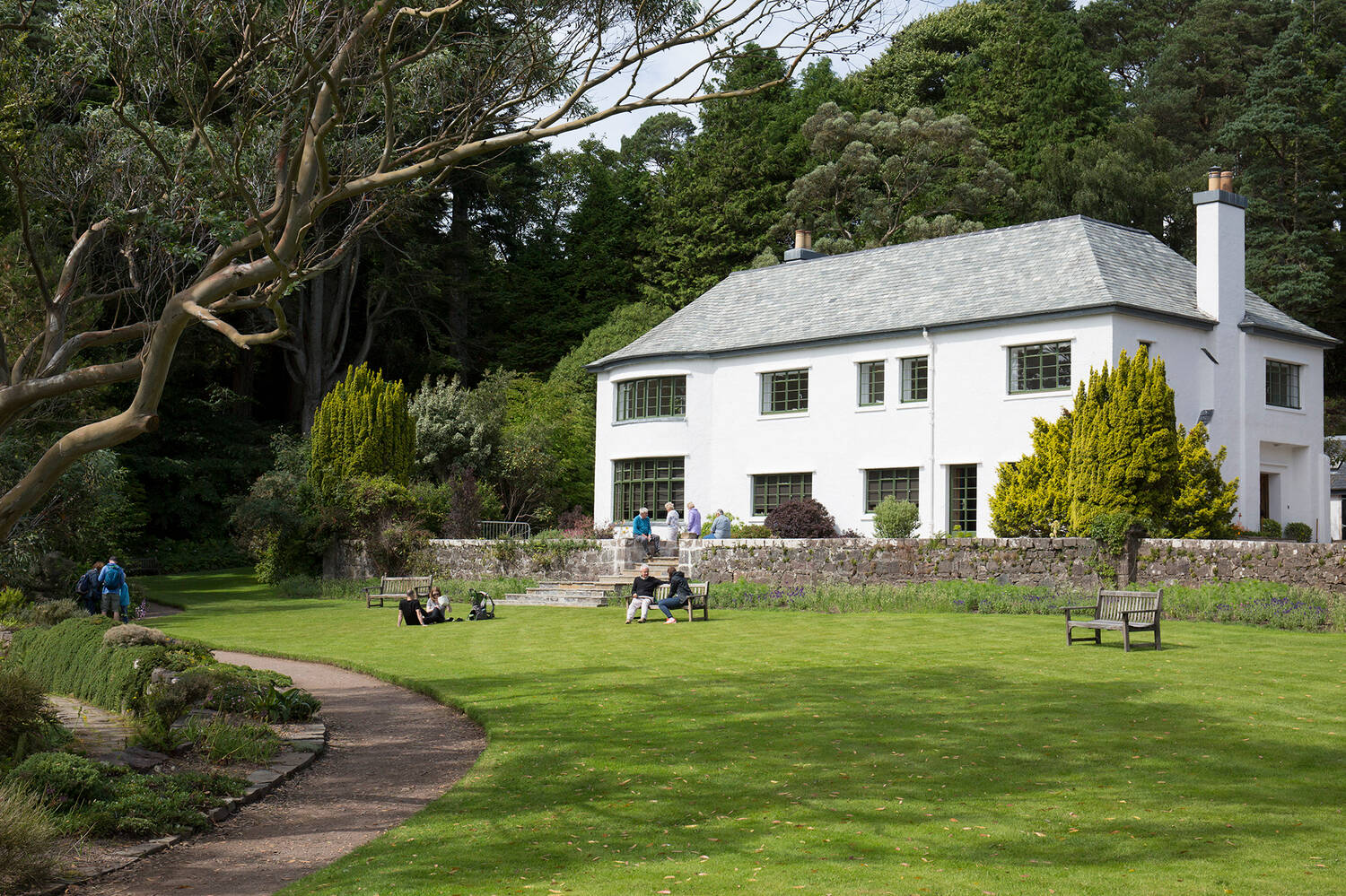 The Sawyer Gallery is located in Inverewe House