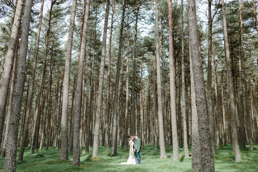 Wedding at Mar Lodge Estate