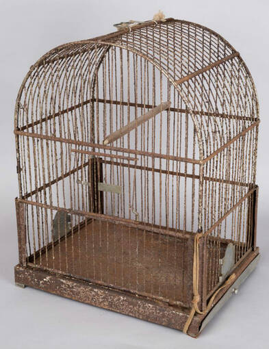 A bird cage found at Moirlanich Longhouse