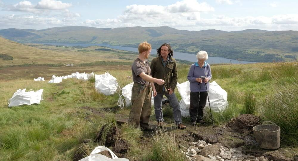 National Trust for Scotland President Neil Oliver meets the Footpath Team