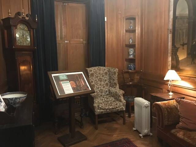 The Cedar Room is the room where the Trust was founded