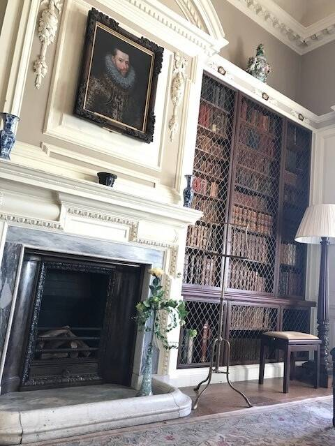 The library is one of the most special rooms at Pollok House