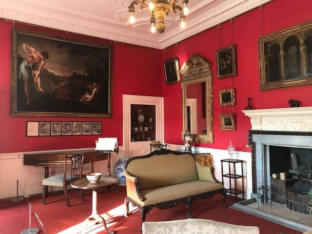 There is lots of artwork to explore at Pollok House