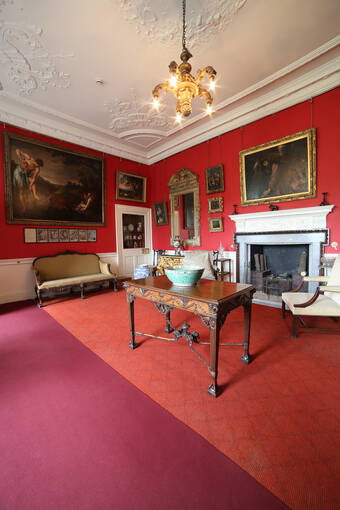 The Music Room in Pollok House