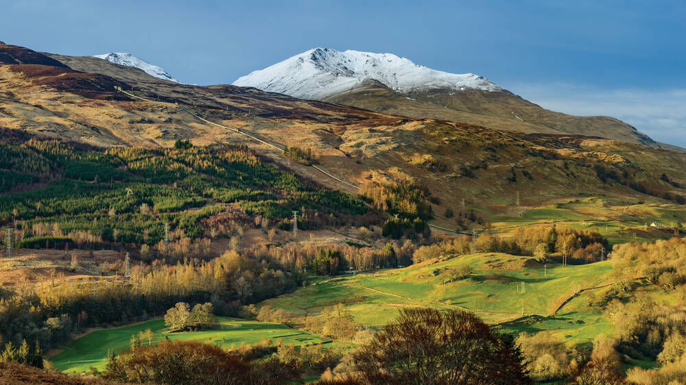 View of Ben Lawers National Nature Reserve