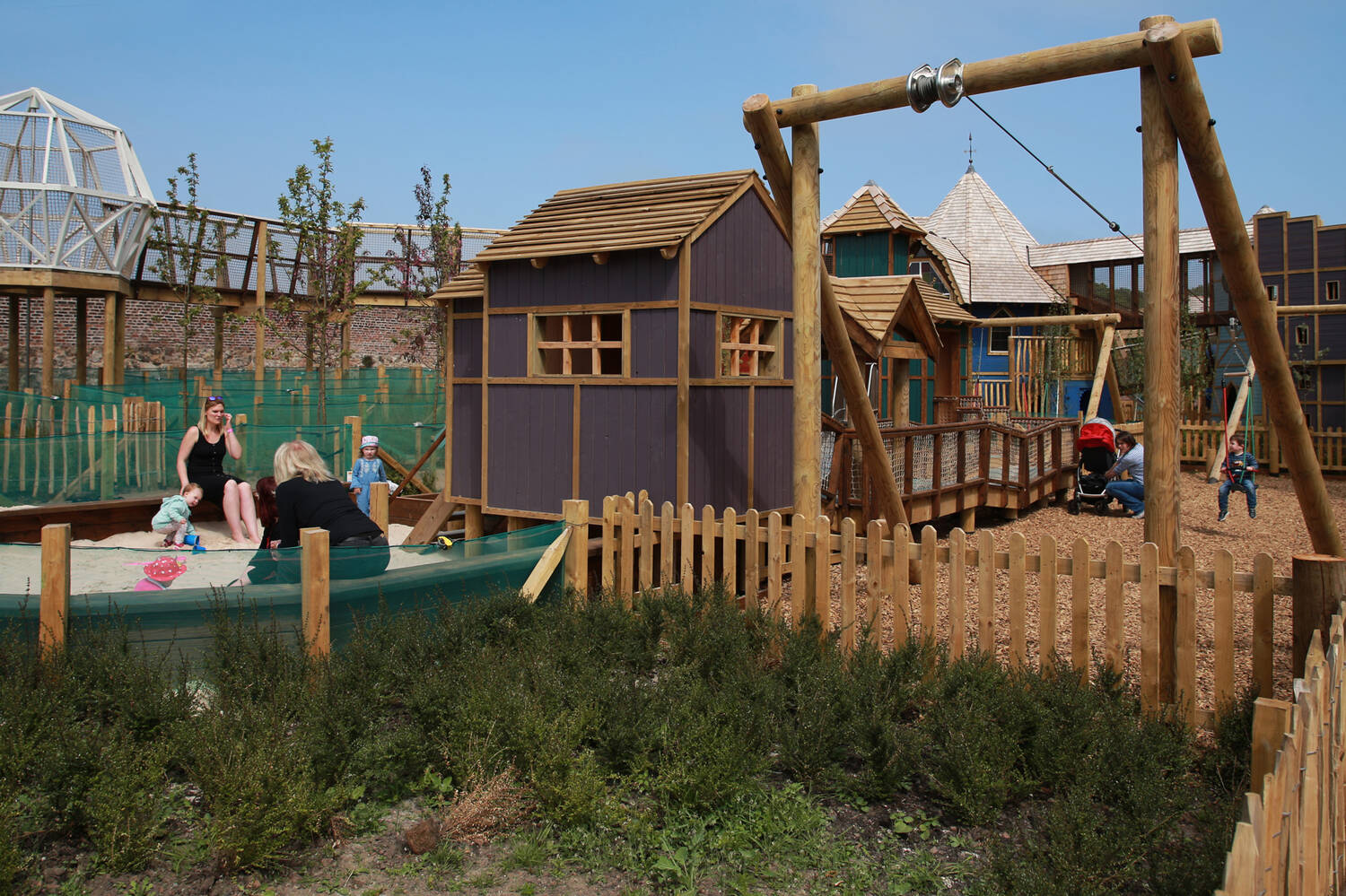 Weehailes Playpark is proving to be a big hit with families