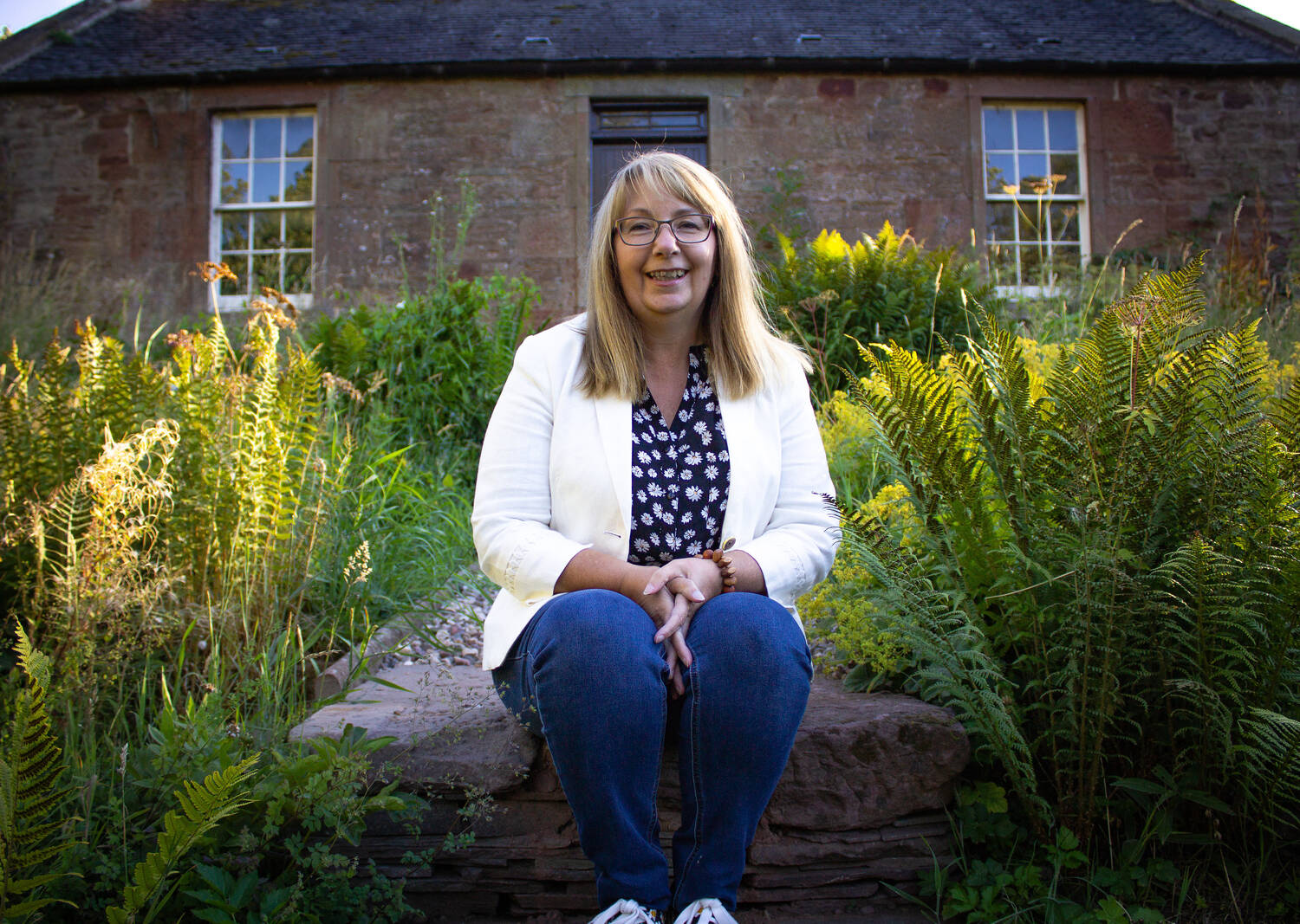Author Sandra Ireland was inspired by the Angus watermill for her new book