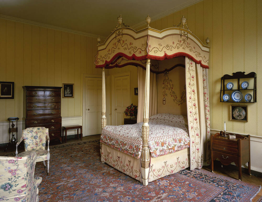 The Bedroom at the Georgian House