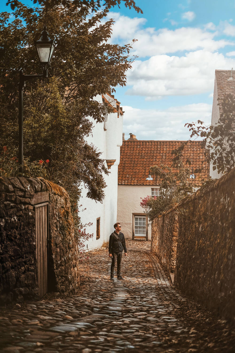 Cobbled streets of Culross