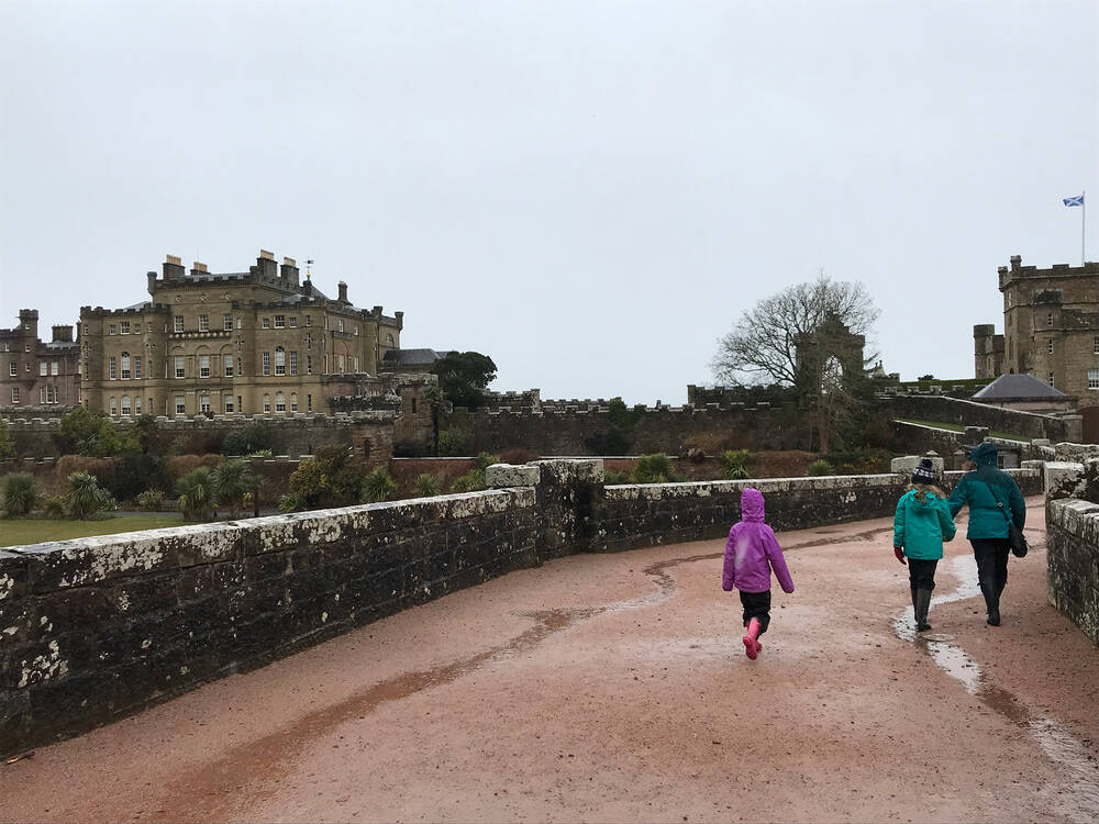The McKelvies at Culzean