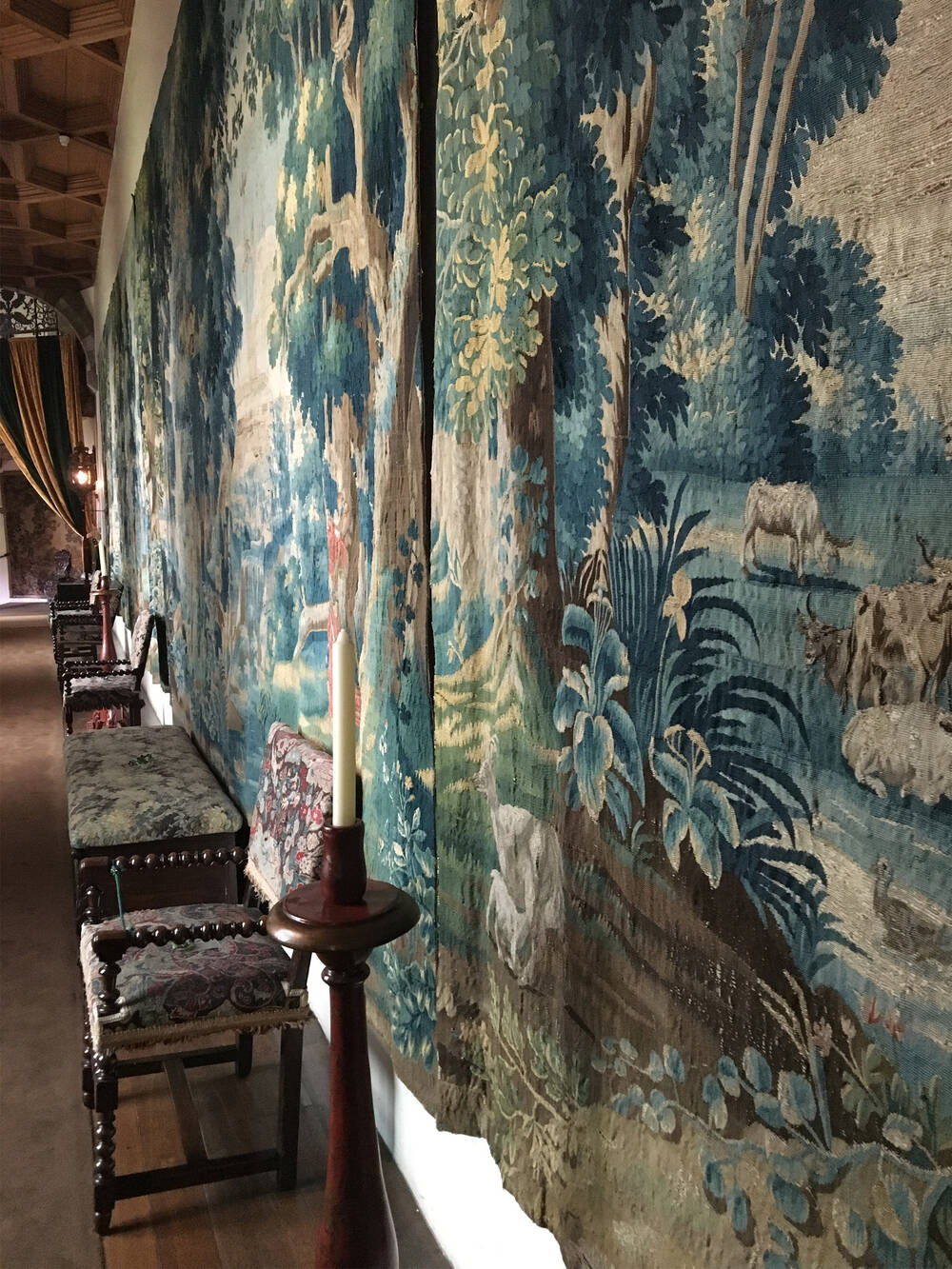 Tapestry Gallery, Falkland Palace