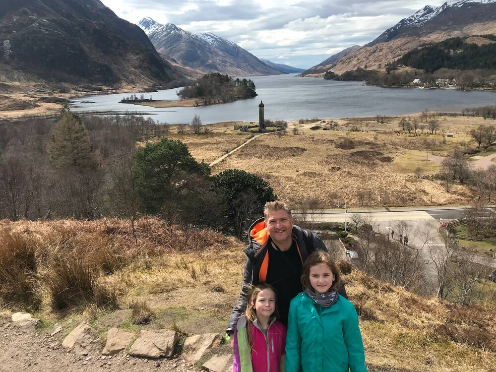 The McKelvies at Glenfinnan