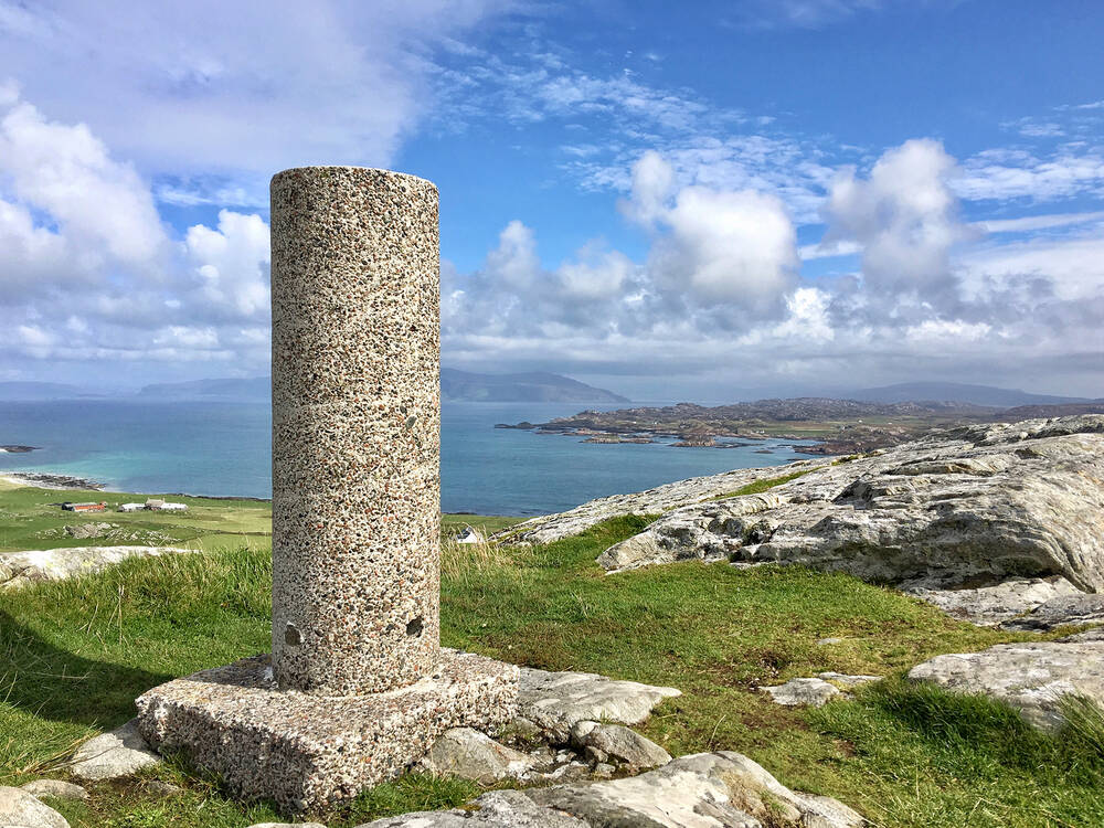 Dun I, Iona's highest point