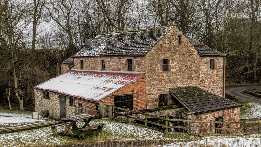 Barry Mill is a category A-listed water-powered mill, which produced oatmeal and animal feed until 1982.
