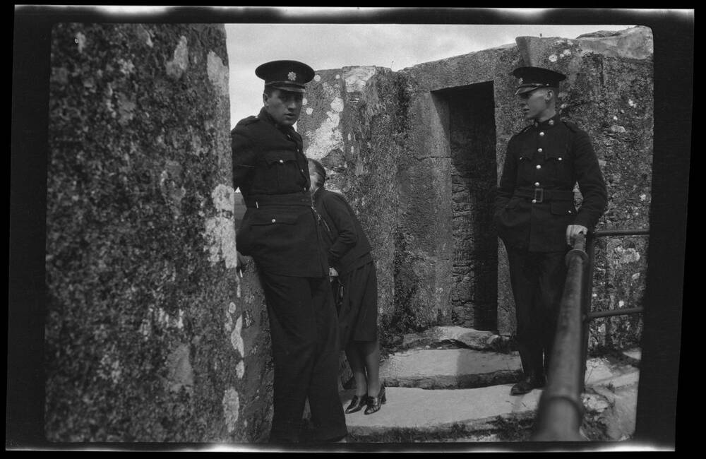 Policemen at the Blarney Stone