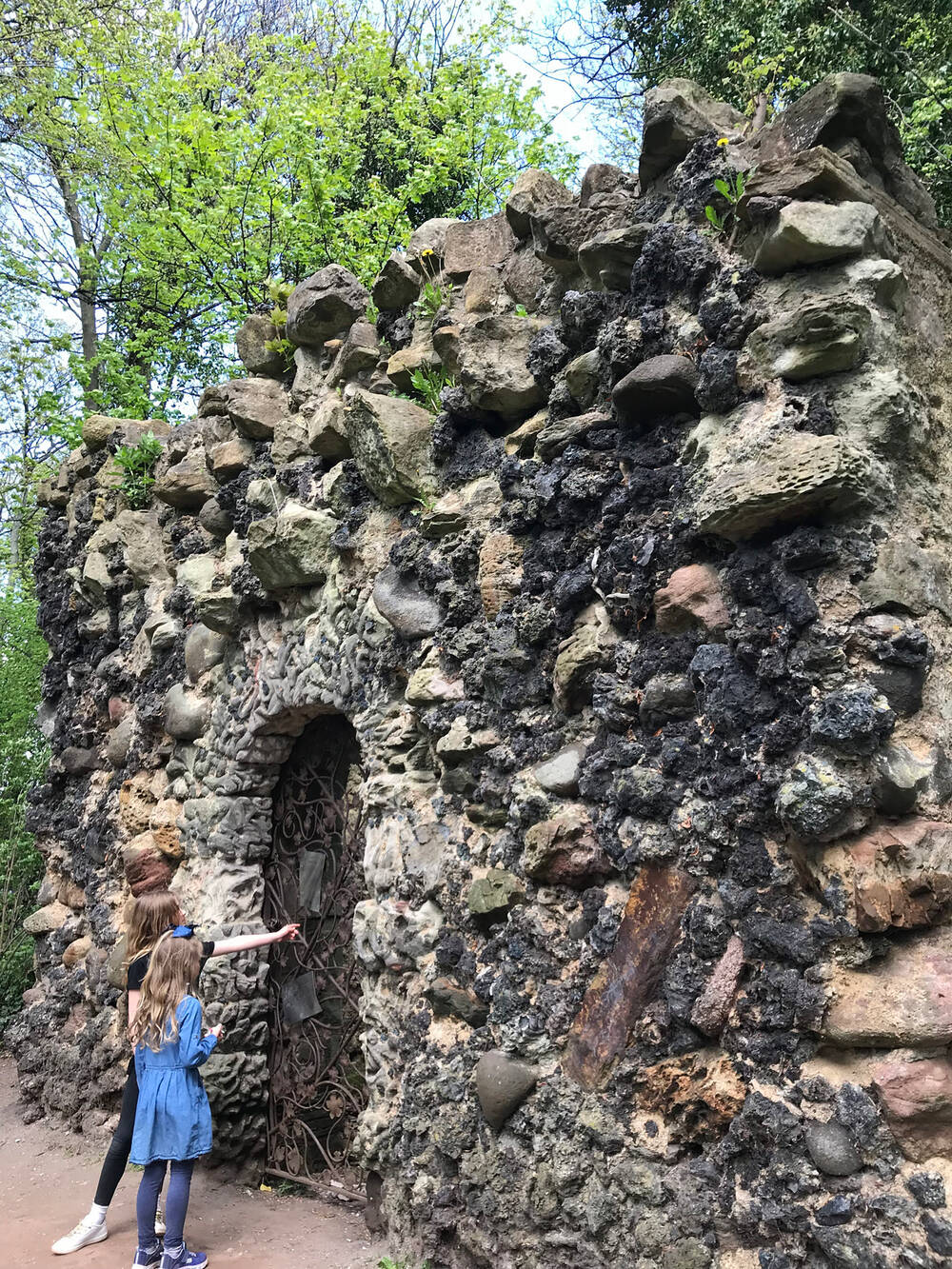 Shell Grotto at Newhailes