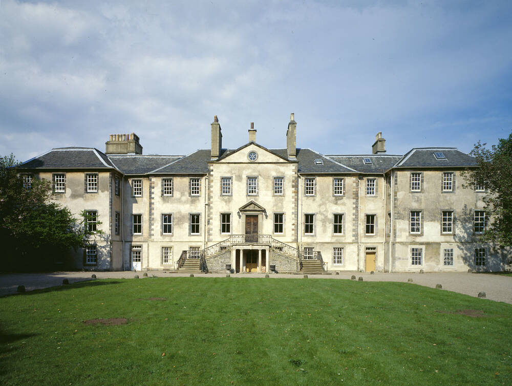 View of the front of Newhailes House