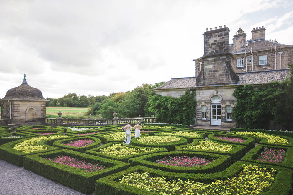 Wedding at Pollok House